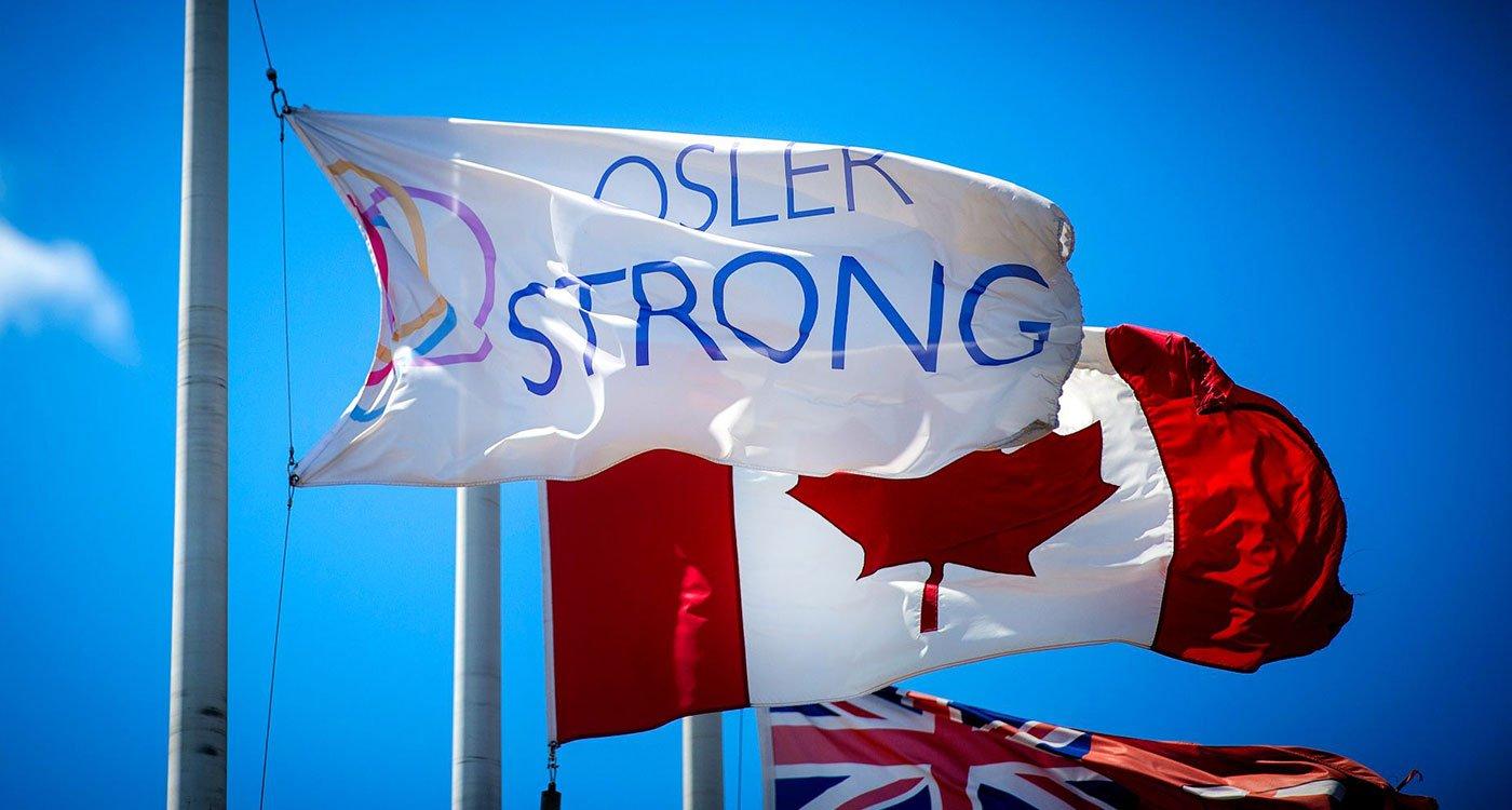 Osler Strong flag
