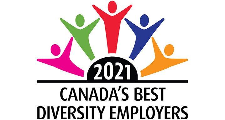 Canada's Best Diversity Employers 2021 logo