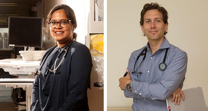 Osler's Infectious Disease Specialists, Dr. Mahin Baqi and Dr. Sergio Borgia
